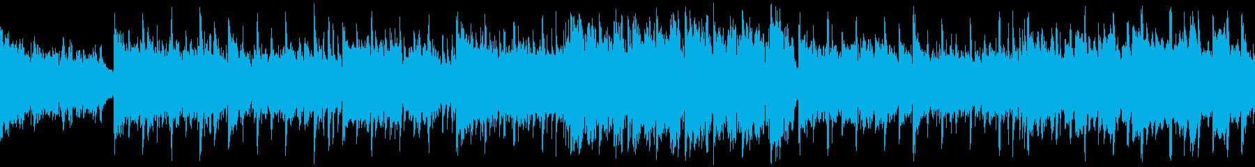アコギのアシッドジャズ【ループ素材系】の再生済みの波形