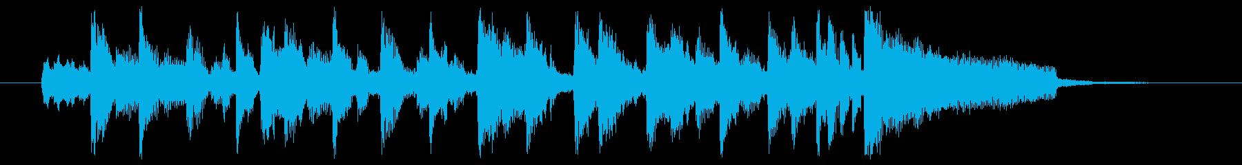 コーナータイトル_80Sの再生済みの波形