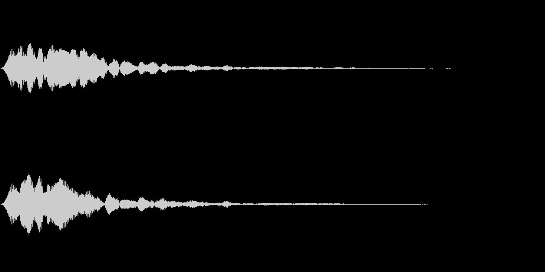 フィーン(タイトルメニュー_オンマウス)の未再生の波形