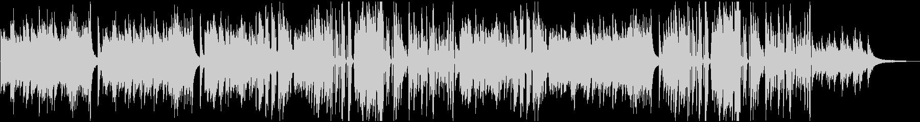 ピアノBGM ビート感あるクールなピアノの未再生の波形
