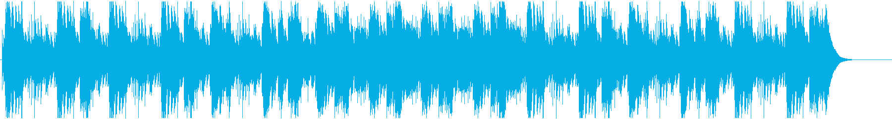 お洒落で大人な雰囲気あるオルゴールの再生済みの波形