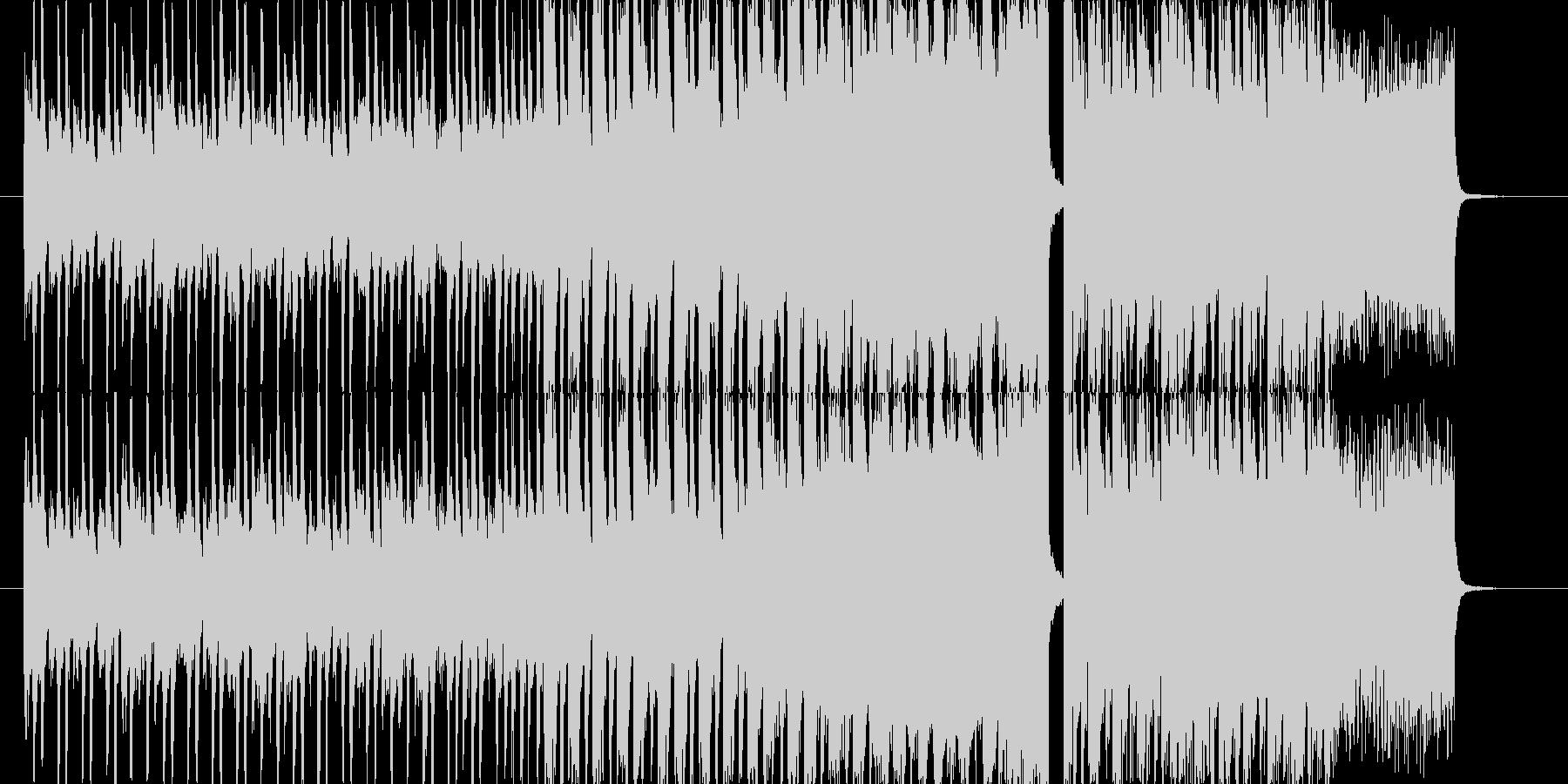 明るくてpopなfuture bassの未再生の波形