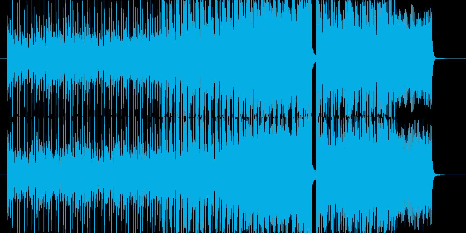 明るくてpopなfuture bassの再生済みの波形