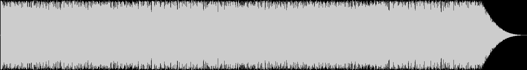ヘヴィなデジロックの未再生の波形