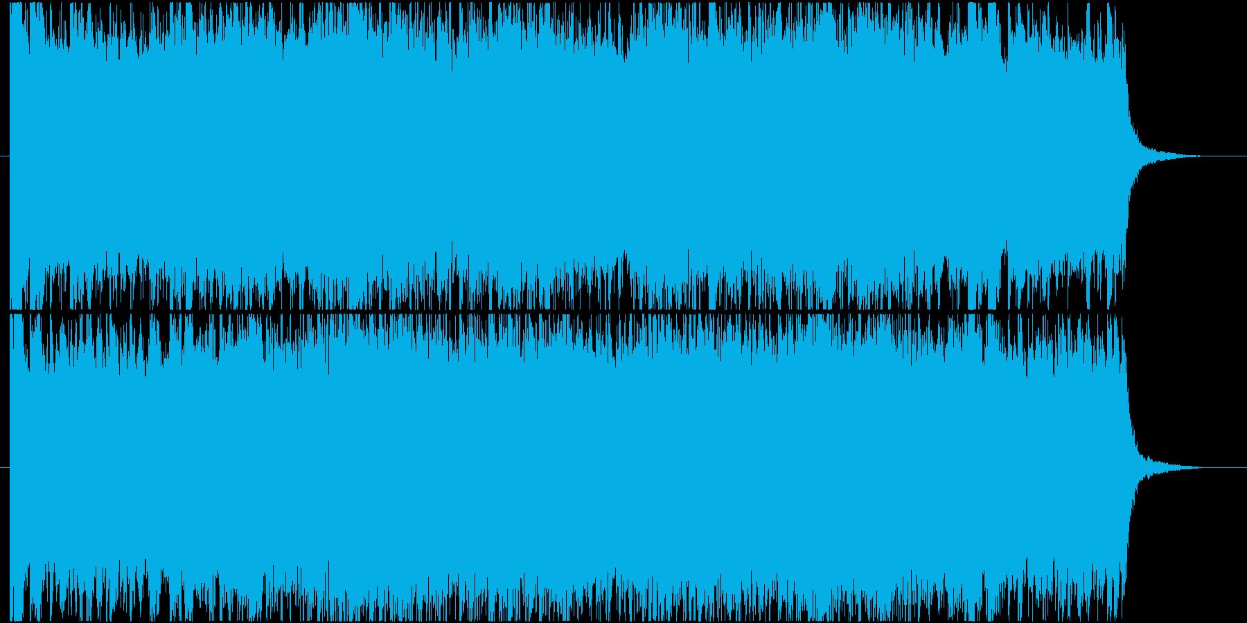 壮大で幻想的なマーチ(行進曲)の再生済みの波形