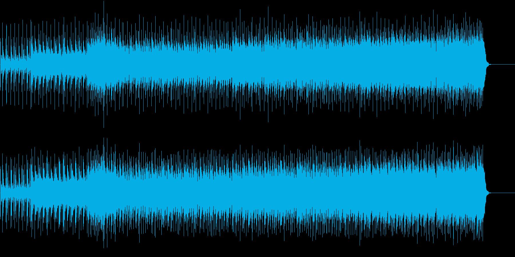 ピアノをフィーチャーしたハード・ポップの再生済みの波形