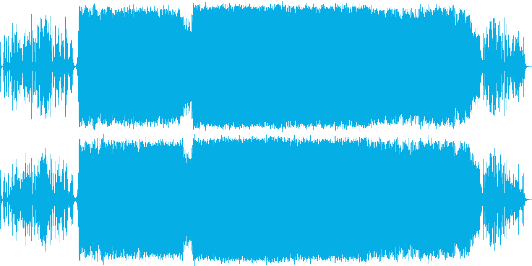 幻想的なトランス  壮大の再生済みの波形