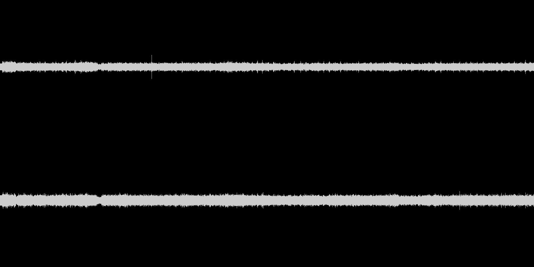 【生音】夏の日の通行音 - 3 「みー…の未再生の波形