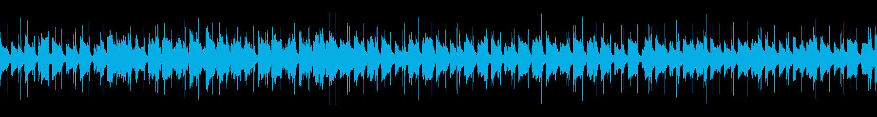 ほのぼの可愛い口笛ギターポップ/ループ可の再生済みの波形