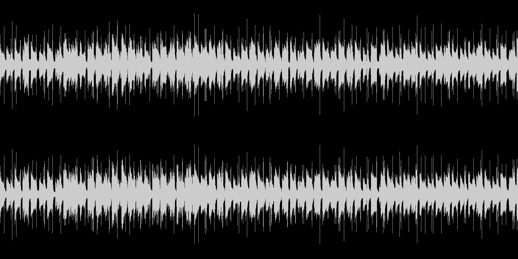 ほのぼの可愛い口笛ギターポップ/ループ可の未再生の波形