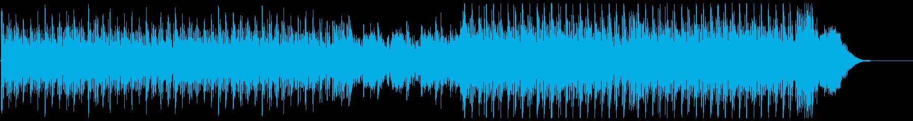 気高さと疾走感を描くクラシック曲の再生済みの波形