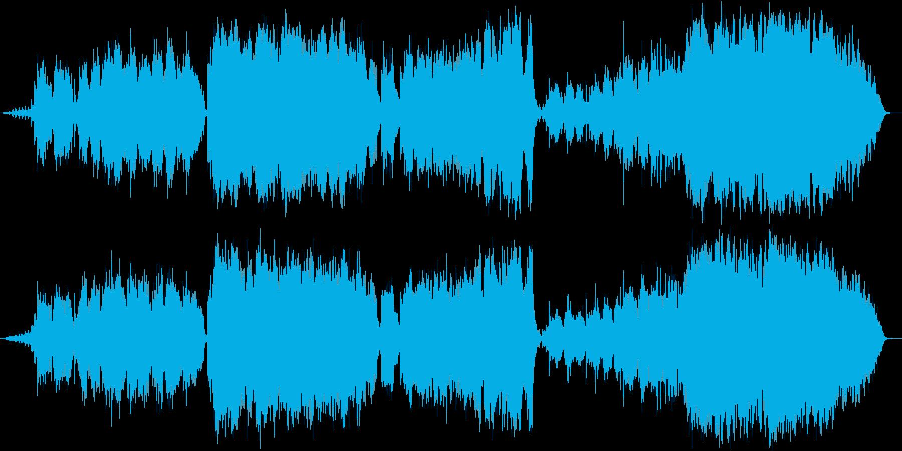 感動・切ない・夕暮れ・踏切/管弦楽の再生済みの波形