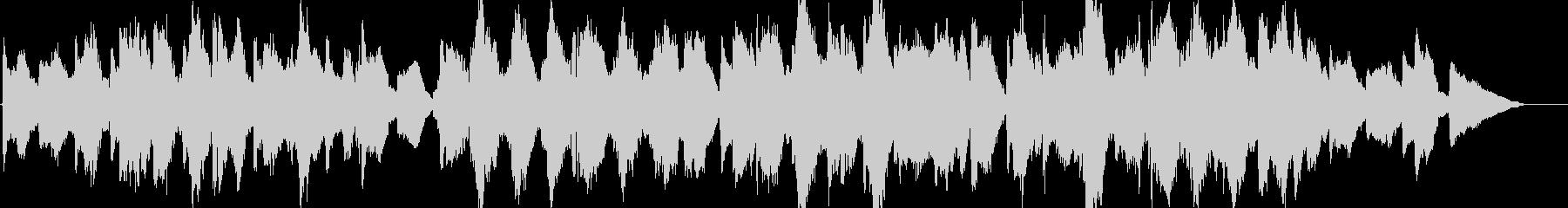 ホラー・悲しげな魔女の森のオーケストラの未再生の波形