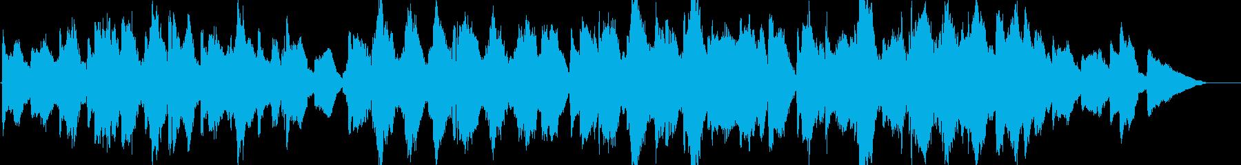 ホラー・悲しげな魔女の森のオーケストラの再生済みの波形