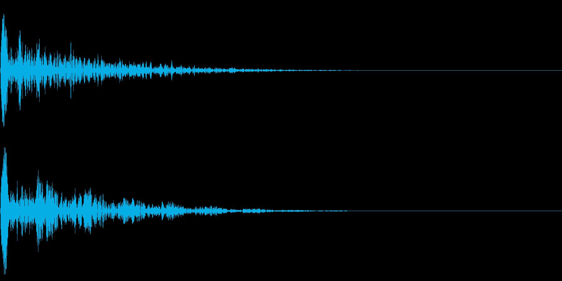 シネマチックな重低音インパクト2・ブーンの再生済みの波形