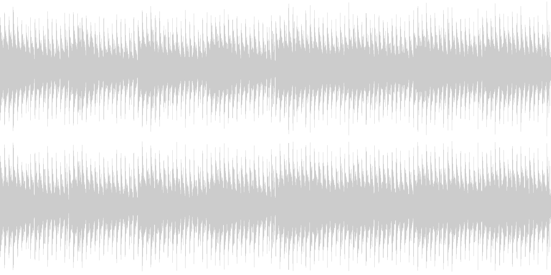 ふわふわとした空気感を味わえる楽曲です。の未再生の波形