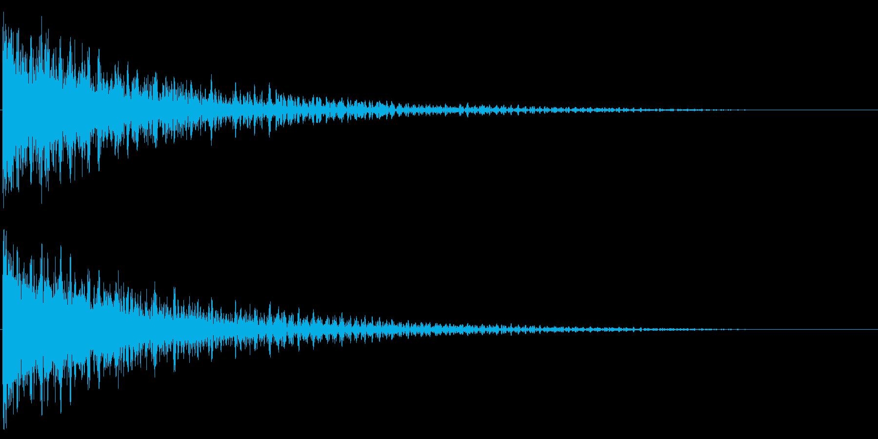 デン!/インパクト系/シンセサイザーの再生済みの波形