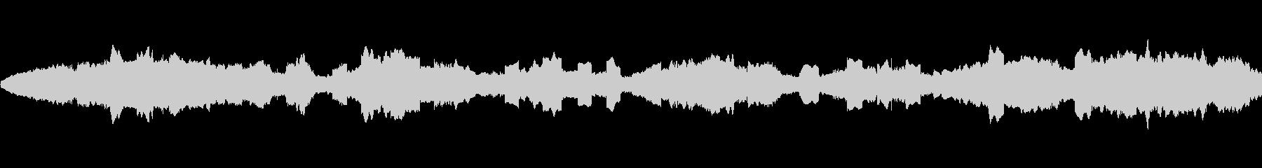 ピーピコピコピー… (宇宙空間のSE)の未再生の波形