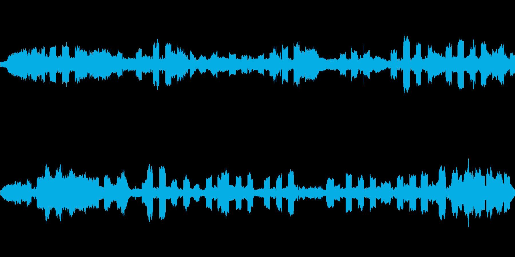 ピーピコピコピー… (宇宙空間のSE)の再生済みの波形