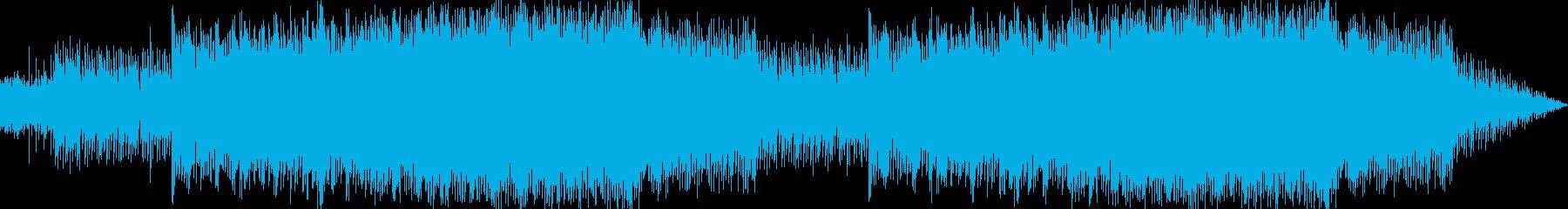 RPG等で使えるファンタジー曲の再生済みの波形
