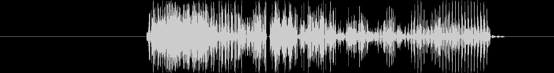 キャンセル音、エラー音の未再生の波形