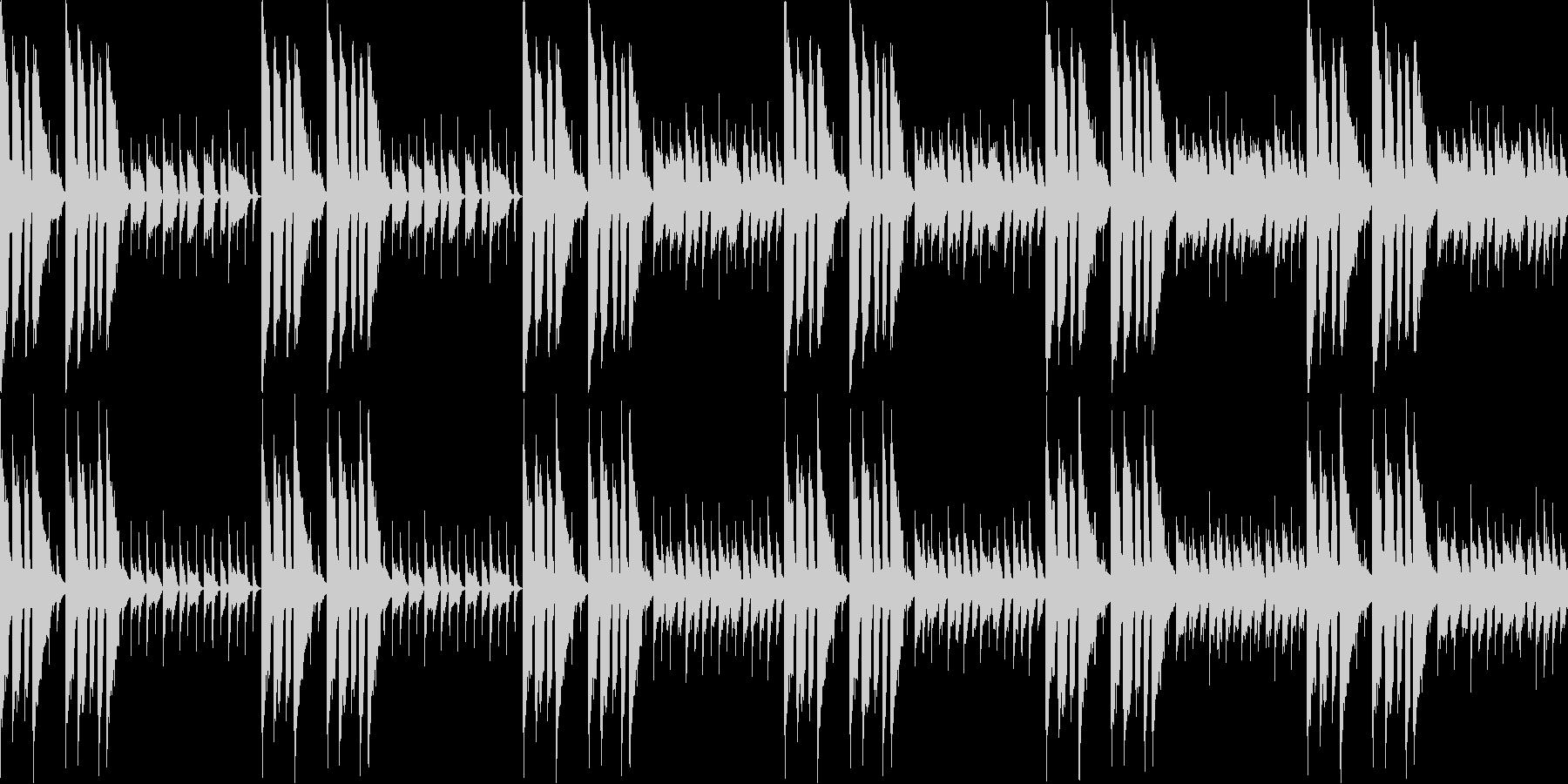何かから解放されたな曲(ループ仕様)の未再生の波形