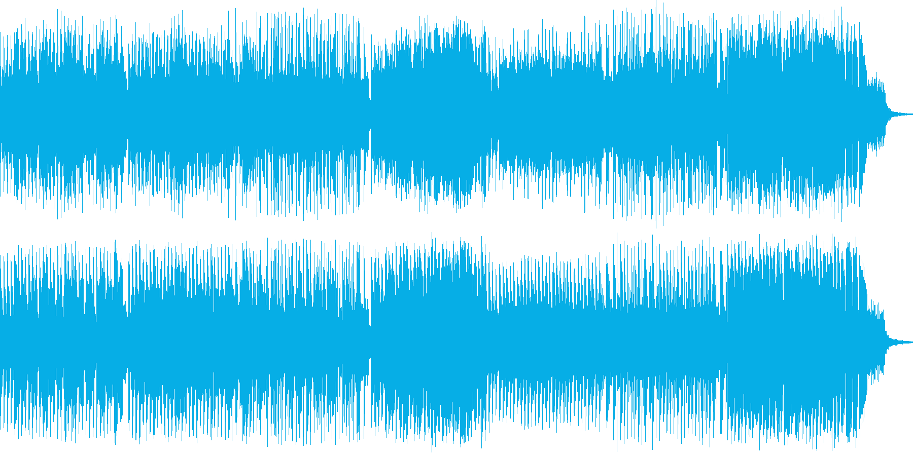 ほのぼのRPGのバトルBGMをイメージ…の再生済みの波形