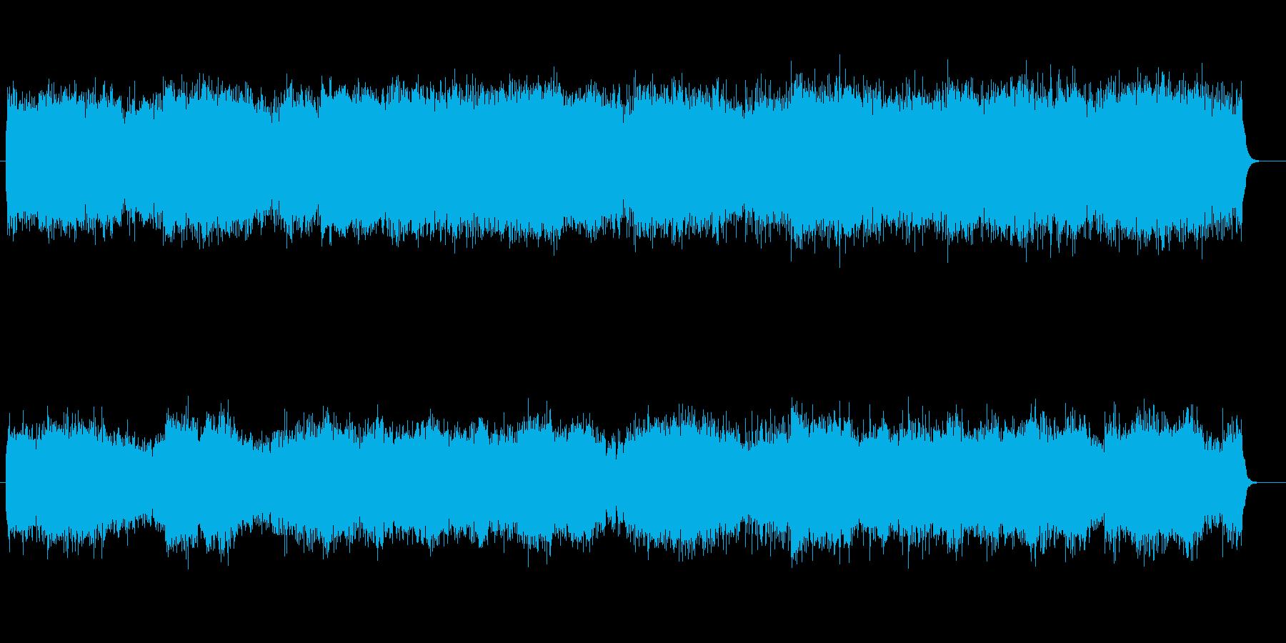 華麗で軽快なシンセとピアノのメロディーの再生済みの波形