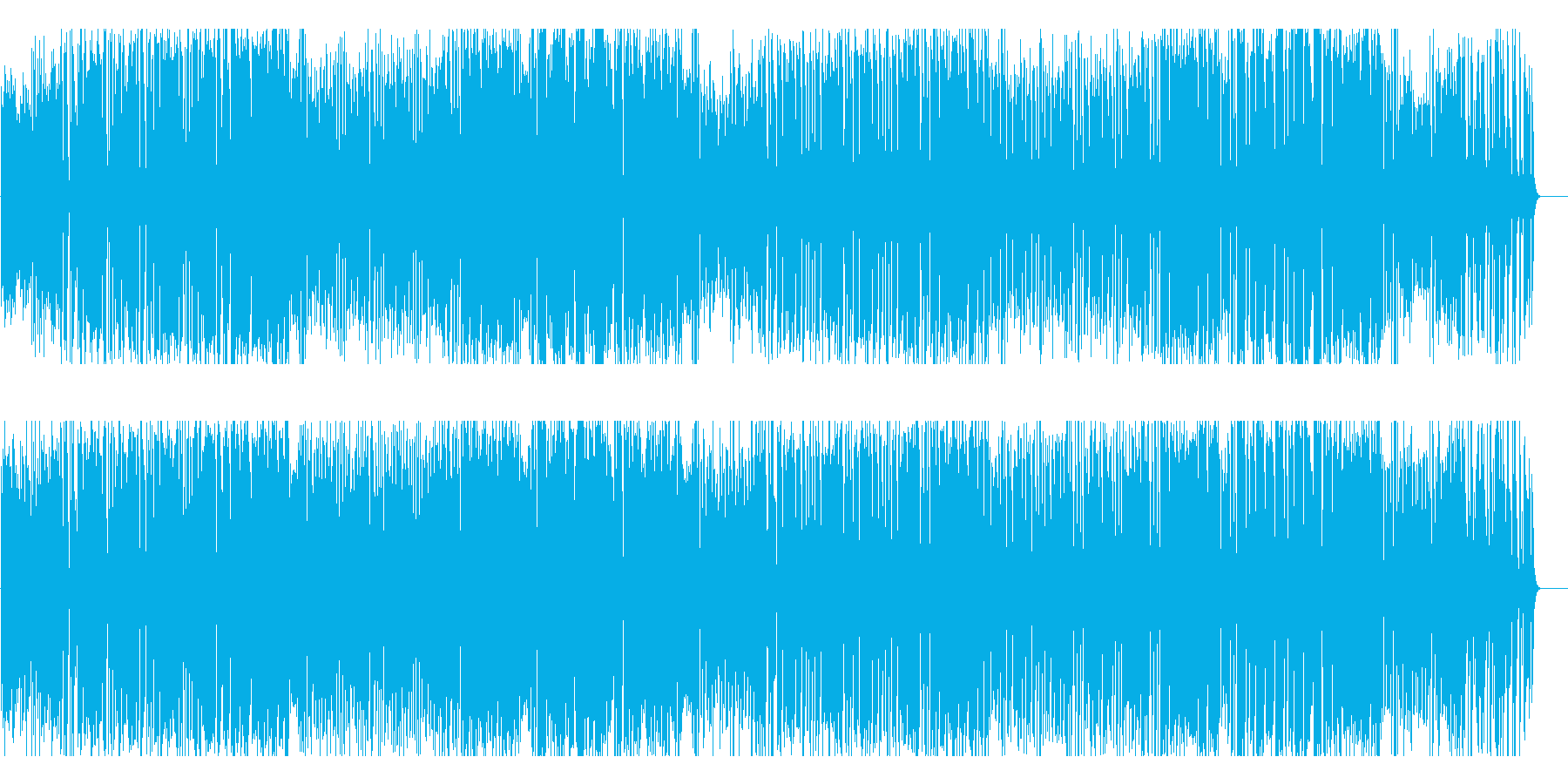 サーカス マジックショー 子供 ペットの再生済みの波形