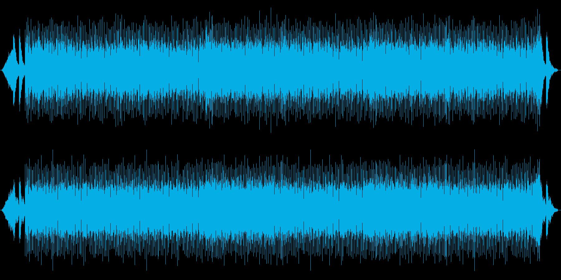 ハロウィーンを意識したテクノの再生済みの波形