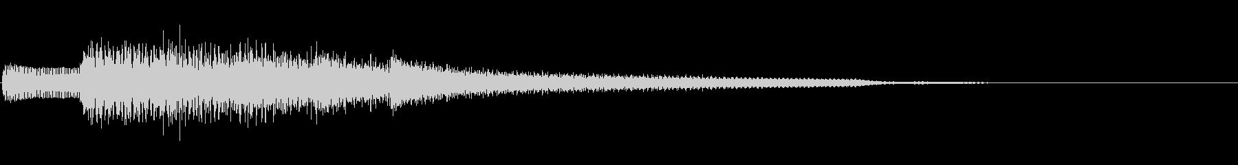 ジングル101iの未再生の波形
