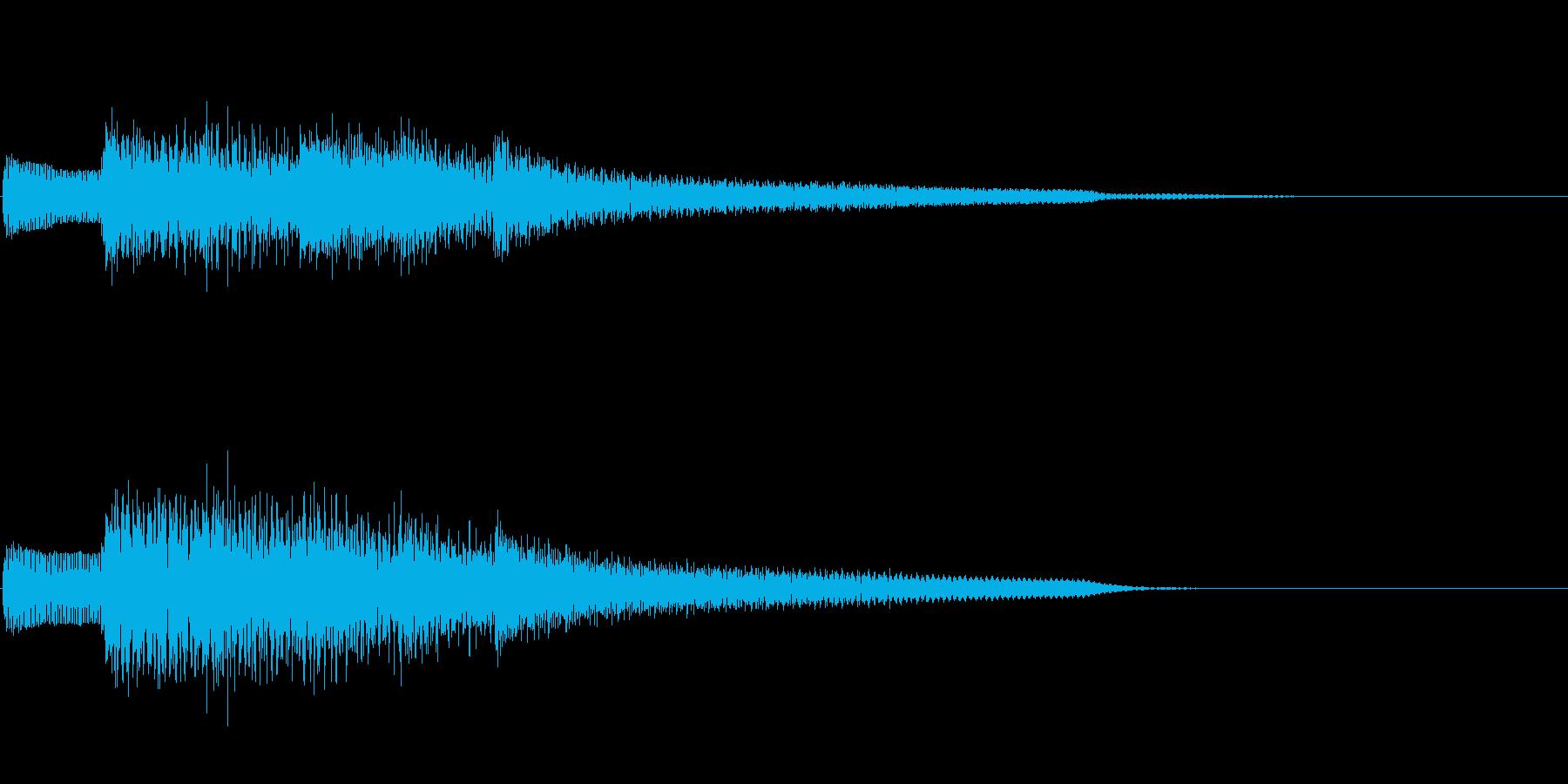 ジングル101iの再生済みの波形
