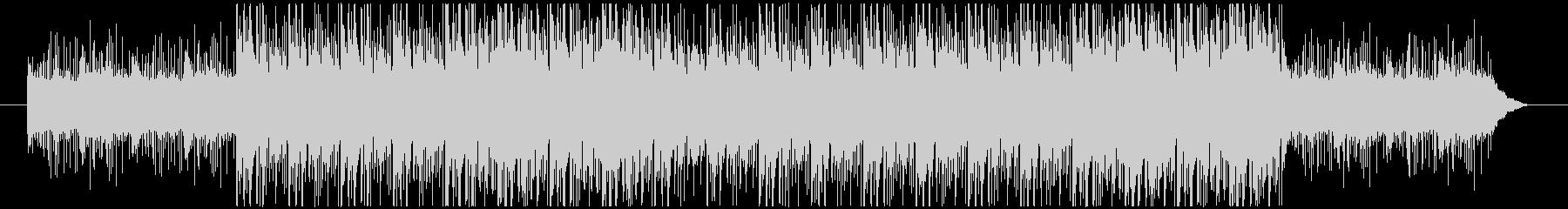 パーカッションによるダークなBGMの未再生の波形