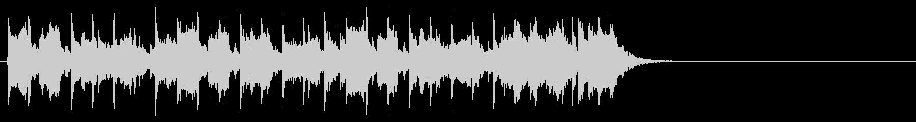 ダンサブルなポップ(Aメロ)の未再生の波形