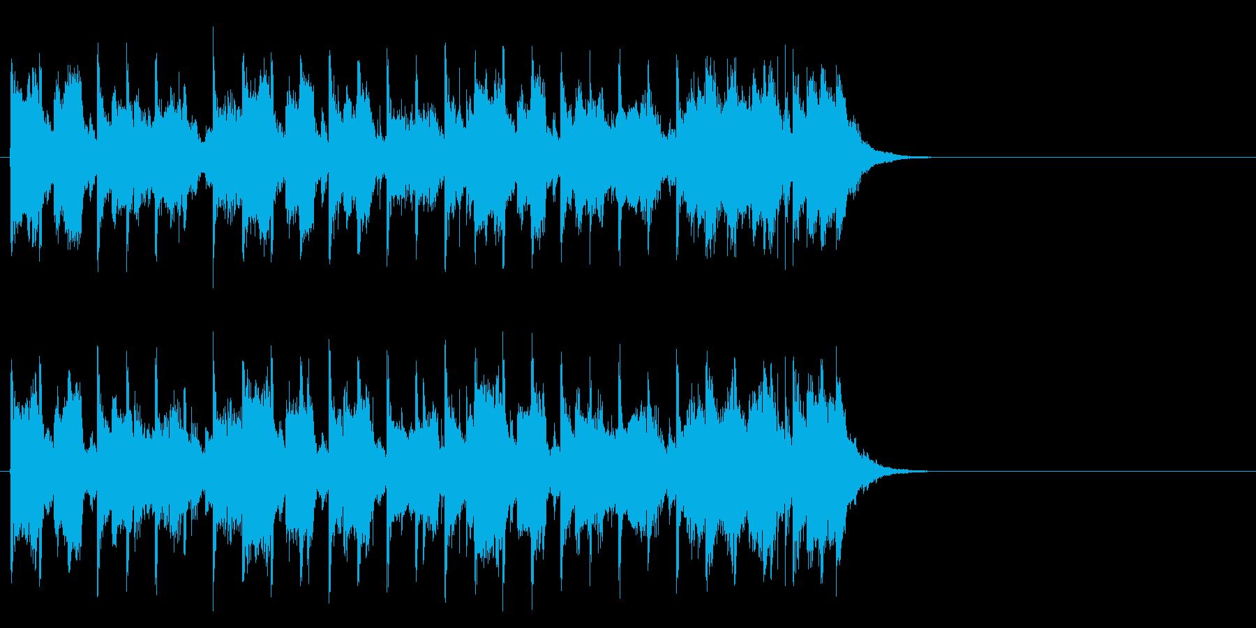 ダンサブルなポップ(Aメロ)の再生済みの波形