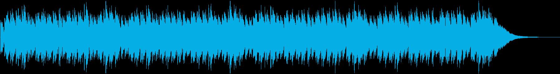 ミステリーやホラーで使えるBGMの再生済みの波形