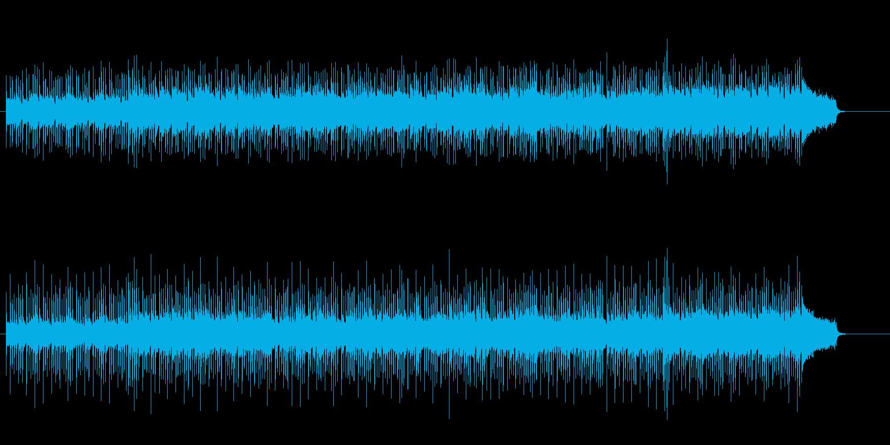 パーカッシヴなラテン調ポップスの再生済みの波形