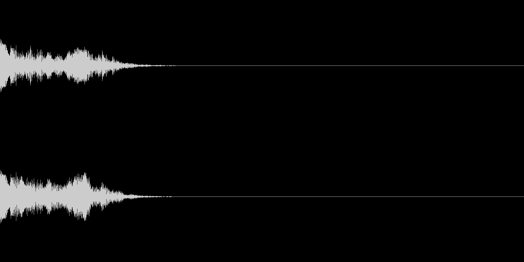 【アラーム01-4】の未再生の波形