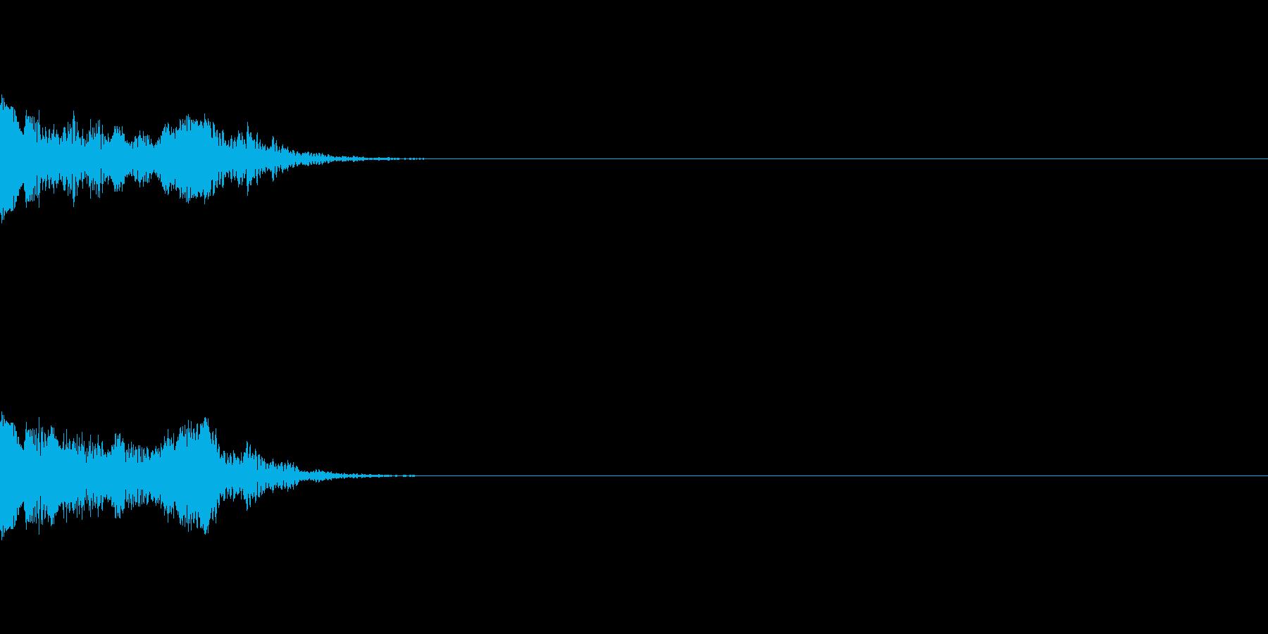 【アラーム01-4】の再生済みの波形