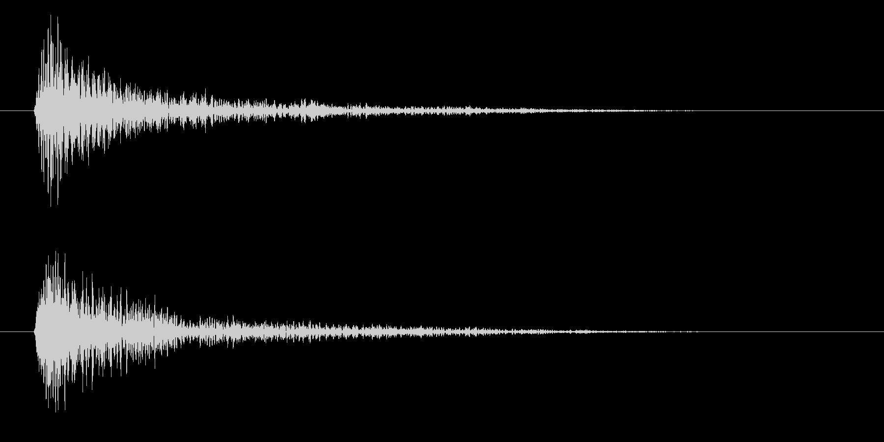 フォン(決定音・システム音・魔法発動)の未再生の波形