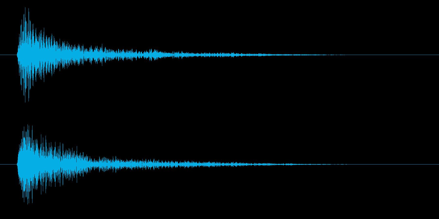 フォン(決定音・システム音・魔法発動)の再生済みの波形