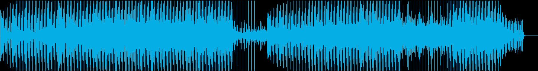 企業VPや映像に 柔らかい音で近未来的の再生済みの波形