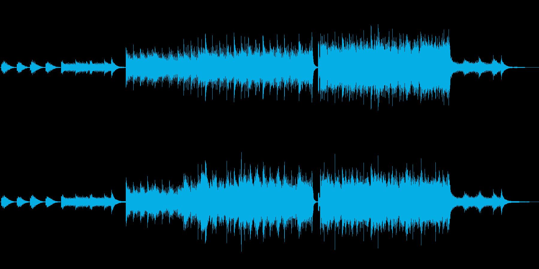 ミステリー:OP・ED用BGM2の再生済みの波形