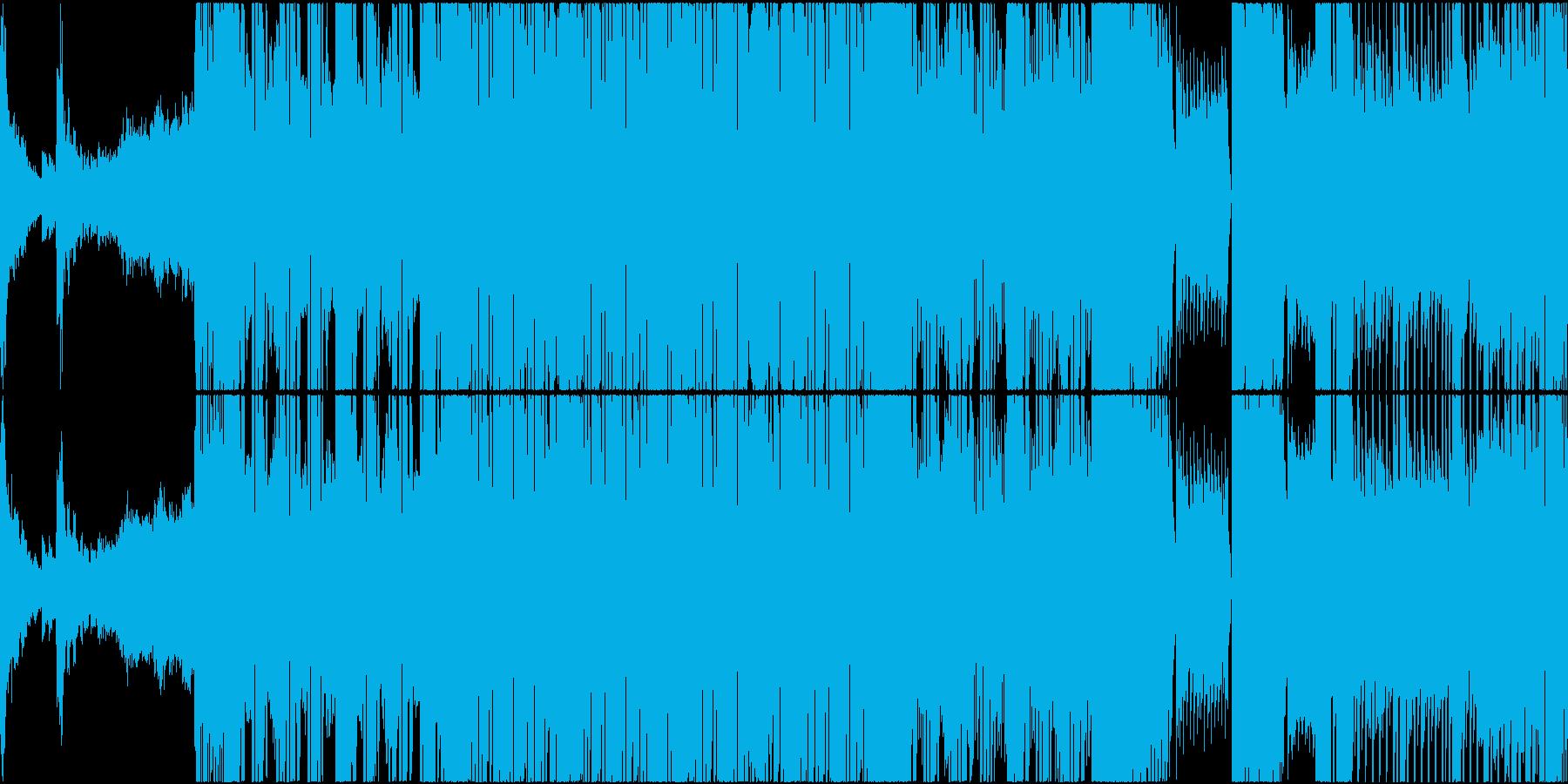 EDM TRAP スポーツ 映画 ループの再生済みの波形