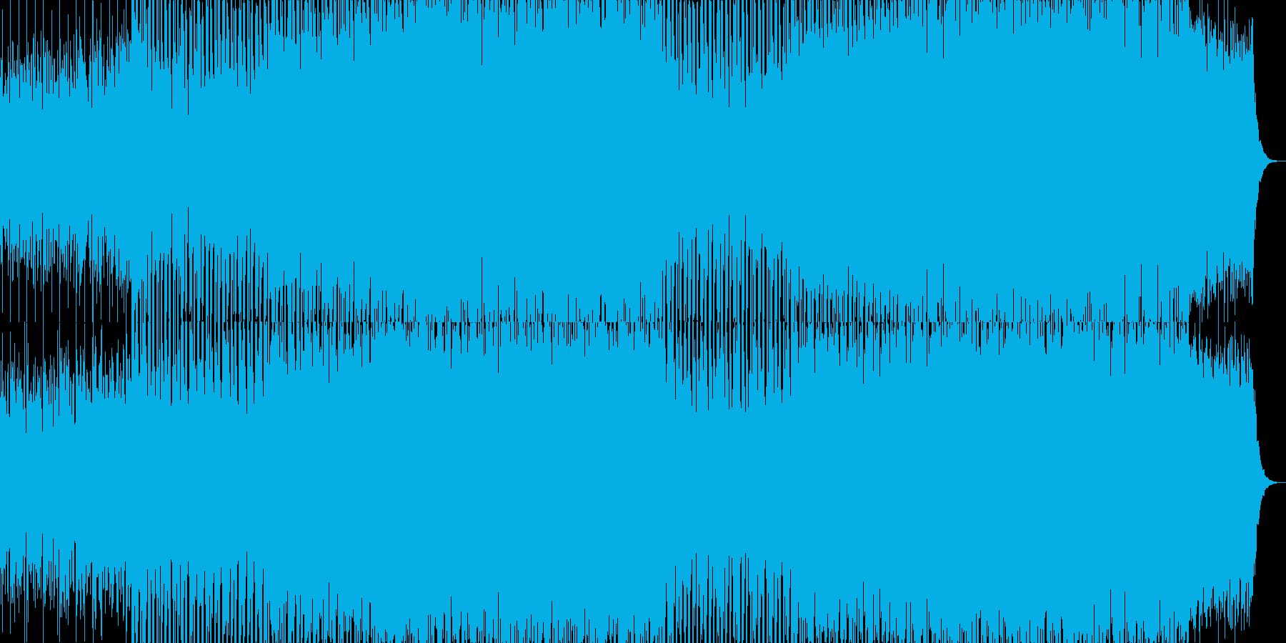 EDMクラブ系ダンスミュージック-93の再生済みの波形