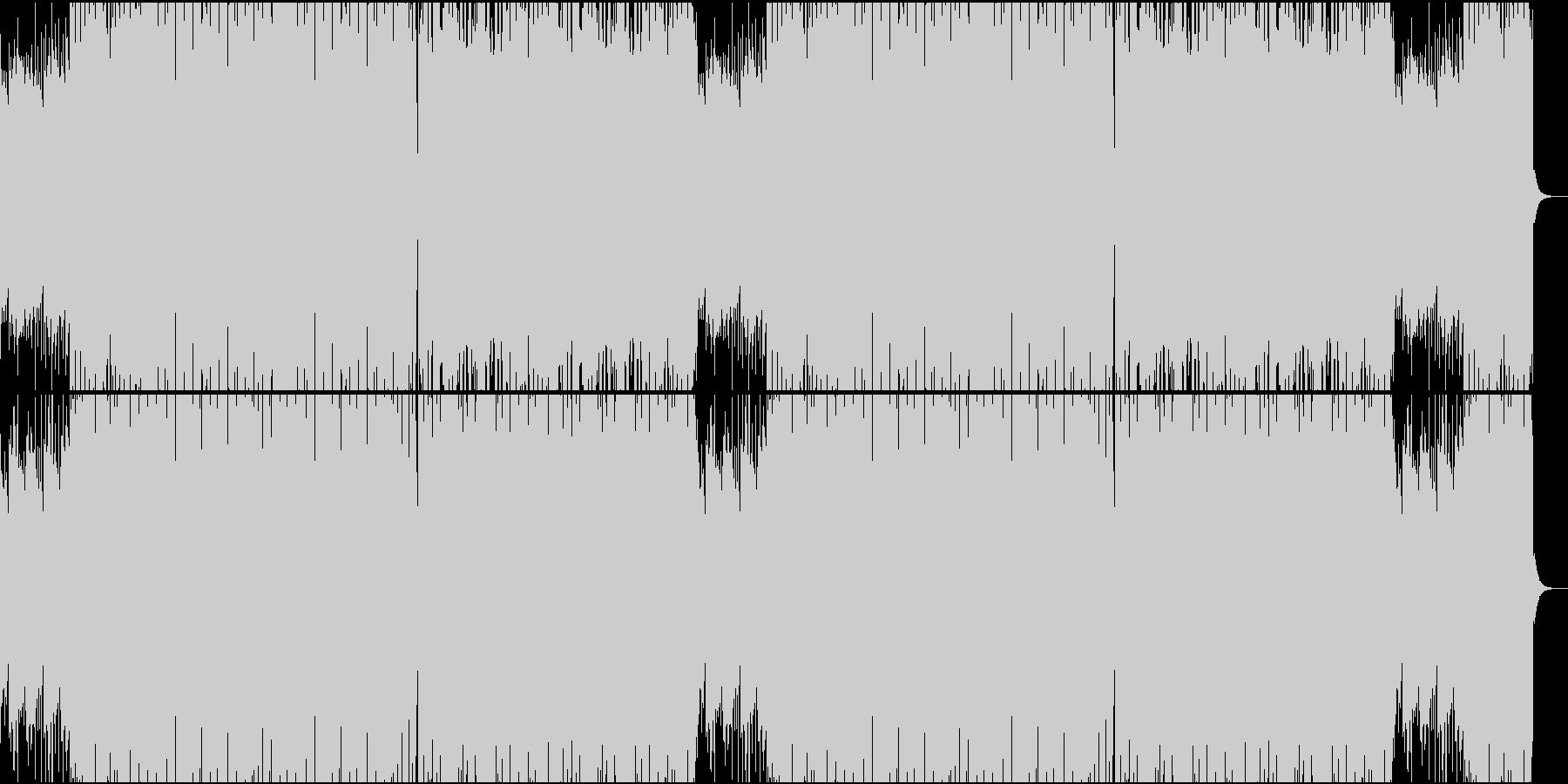 ジャズっぽいブラジリアンサウンドの未再生の波形
