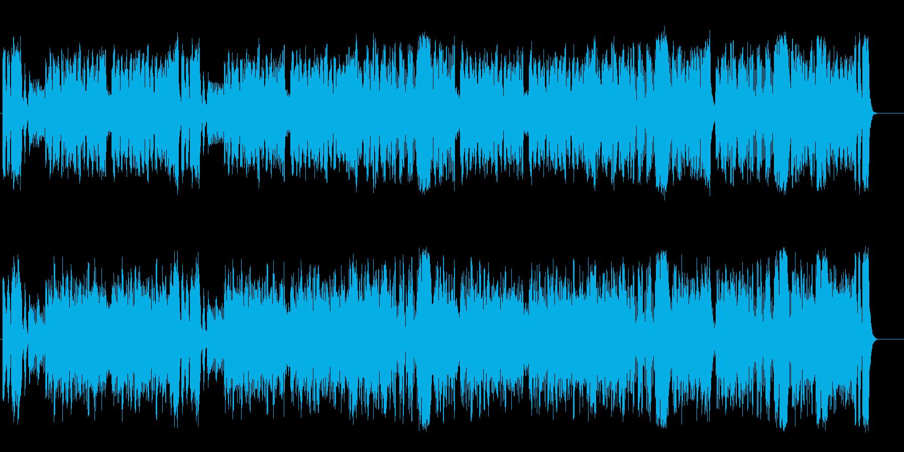 緑が映える優美なクラシック/オーケストラの再生済みの波形