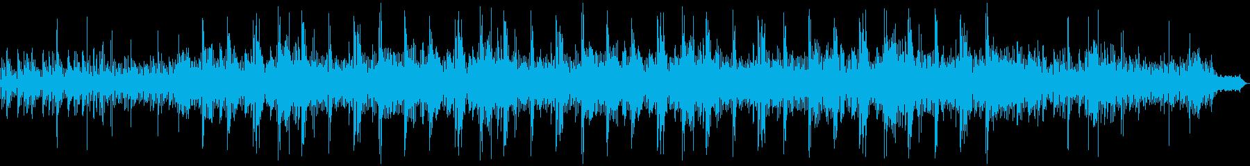 神秘的な映像に合うエレクトロニカの再生済みの波形