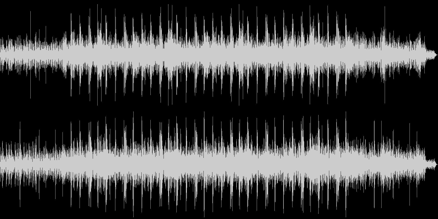 神秘的な映像に合うエレクトロニカの未再生の波形