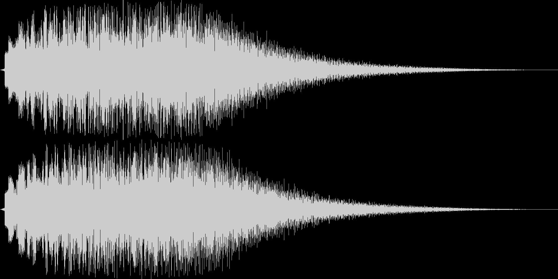 デュラララララララーン(チャイム系)の未再生の波形